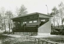Fotografie tribuny z roku 1979